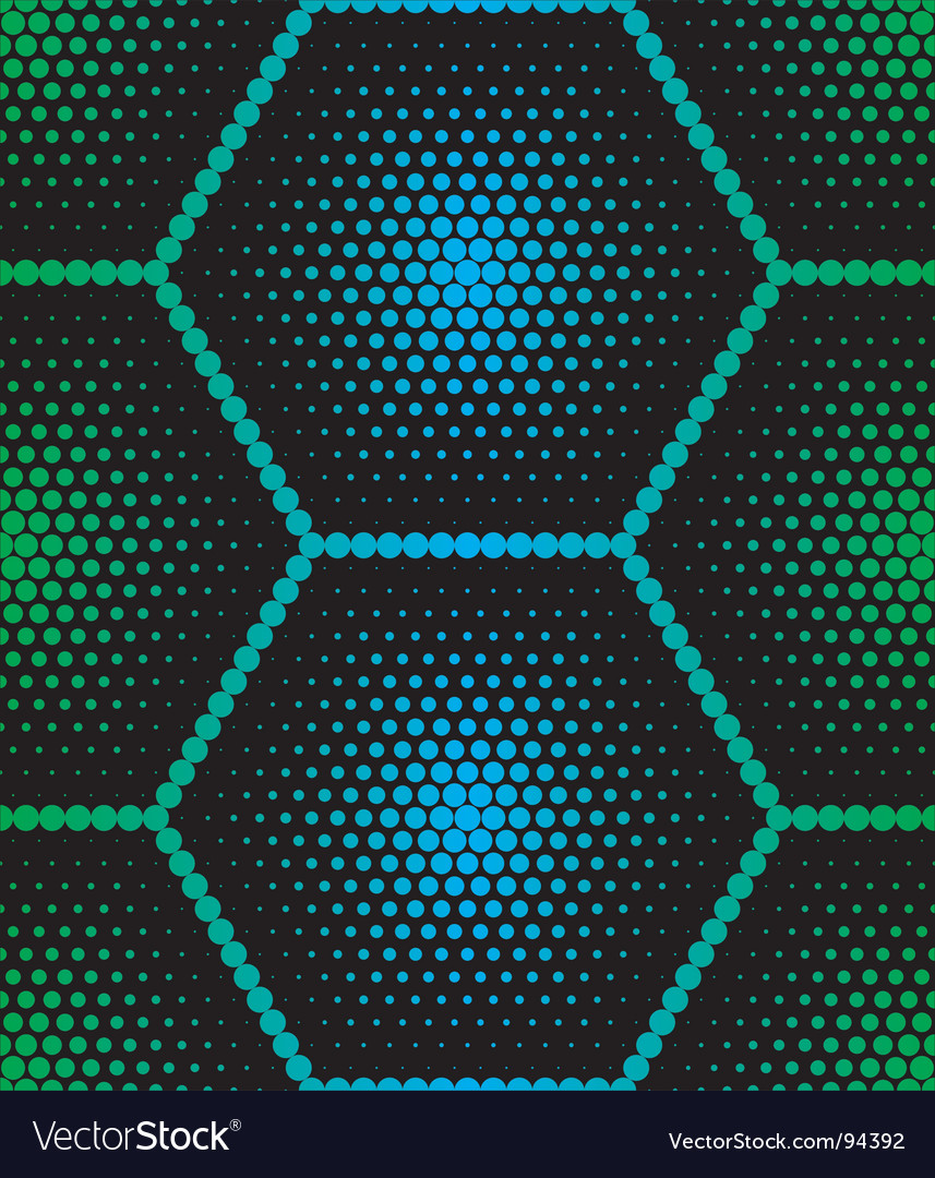 Hexagon texture vector | Price: 1 Credit (USD $1)