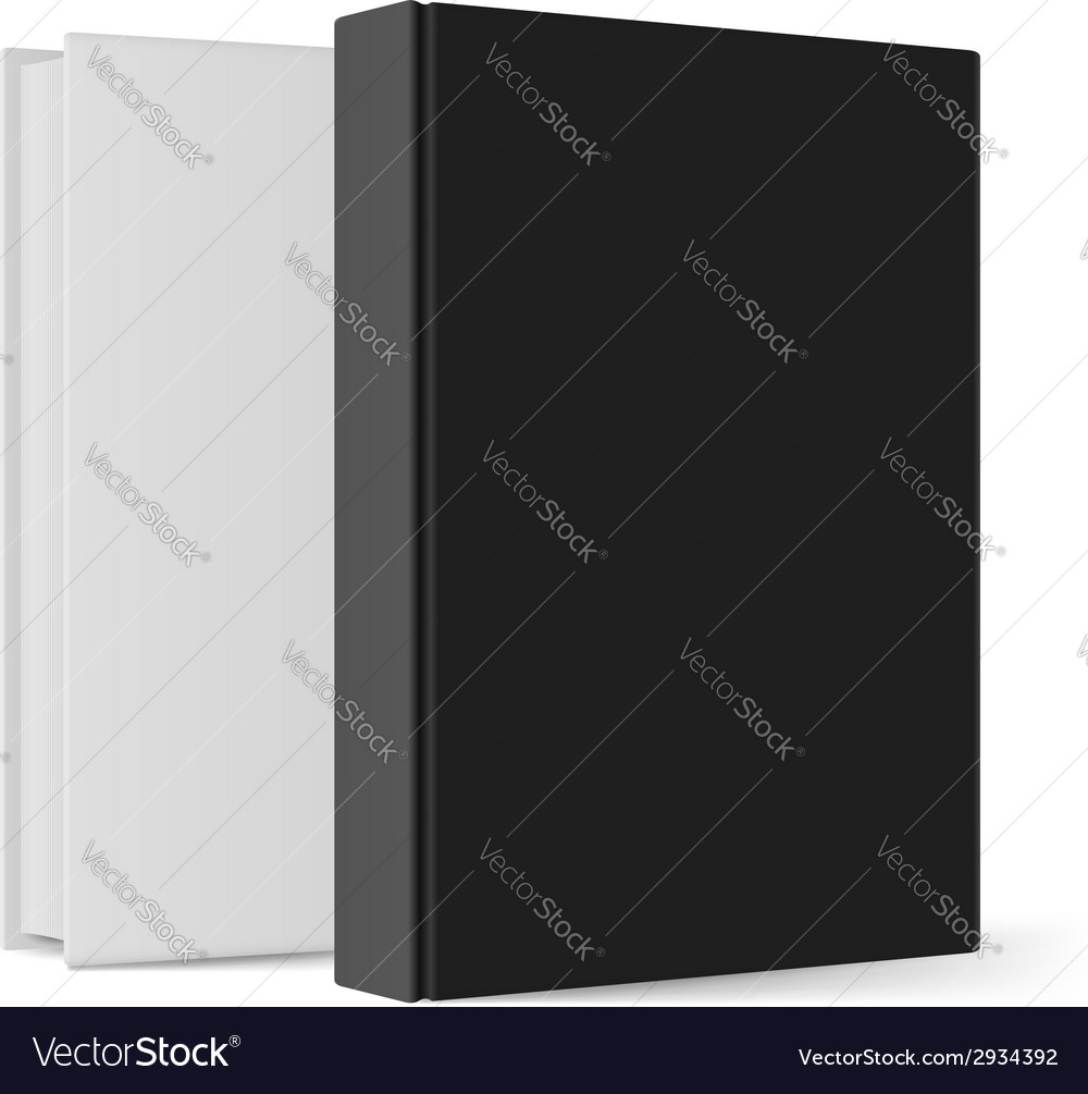 Realistic books vector | Price: 1 Credit (USD $1)