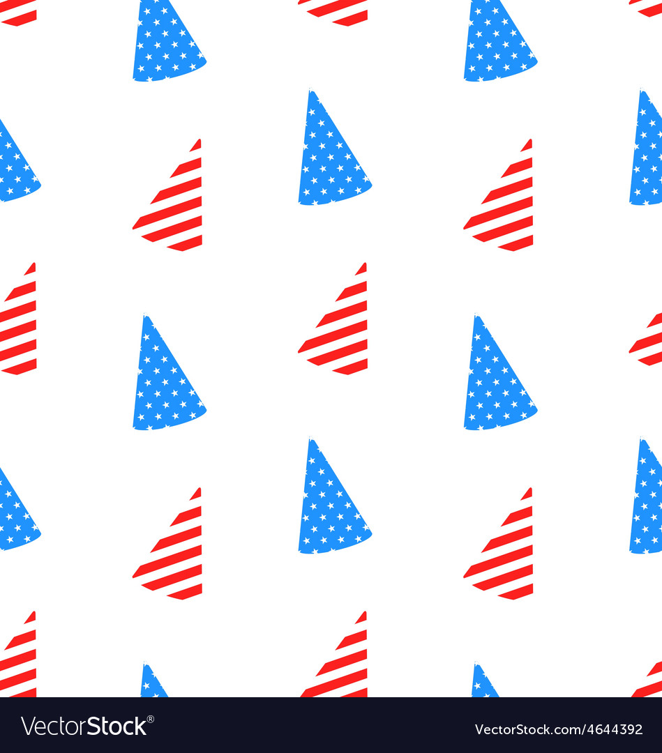 Seamless texture hudcap for independence day vector   Price: 1 Credit (USD $1)