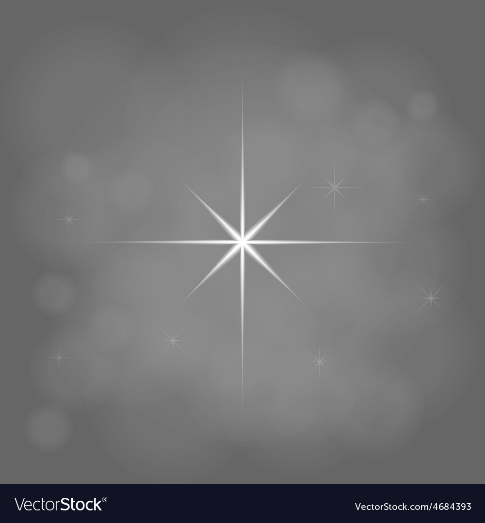 Abstract star magic light sky bubble blur gray vector | Price: 1 Credit (USD $1)