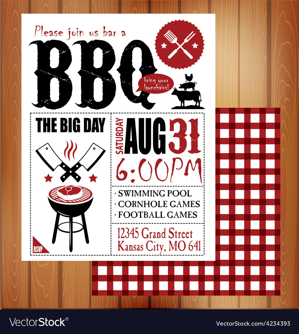 Bbq vector | Price: 1 Credit (USD $1)