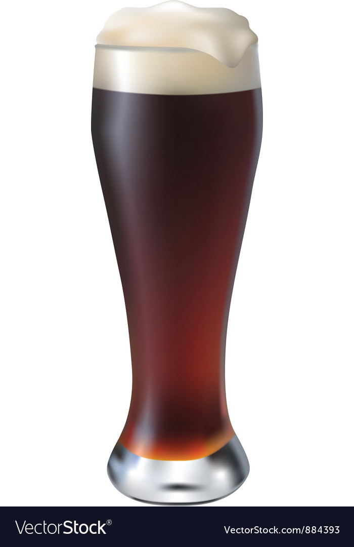 Dark beer vector | Price: 1 Credit (USD $1)