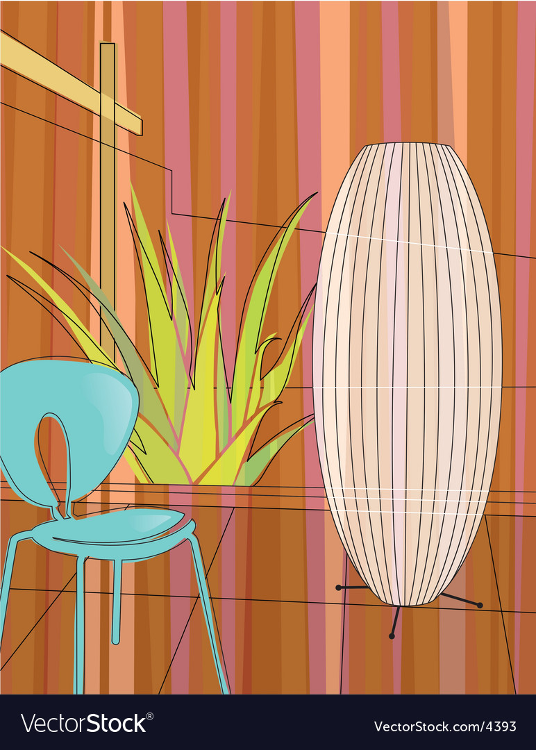 Home indoor garden vector | Price: 3 Credit (USD $3)