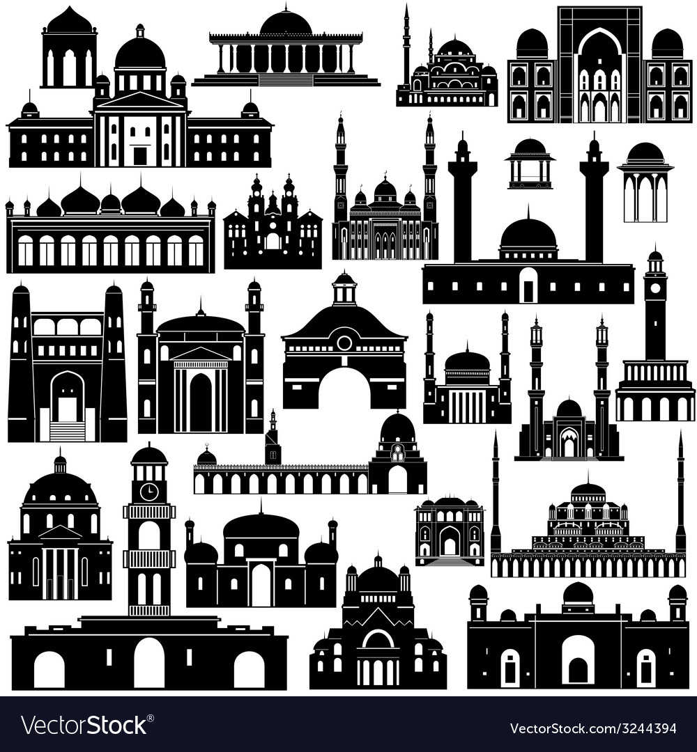 Architecture asia 1 vector | Price: 1 Credit (USD $1)