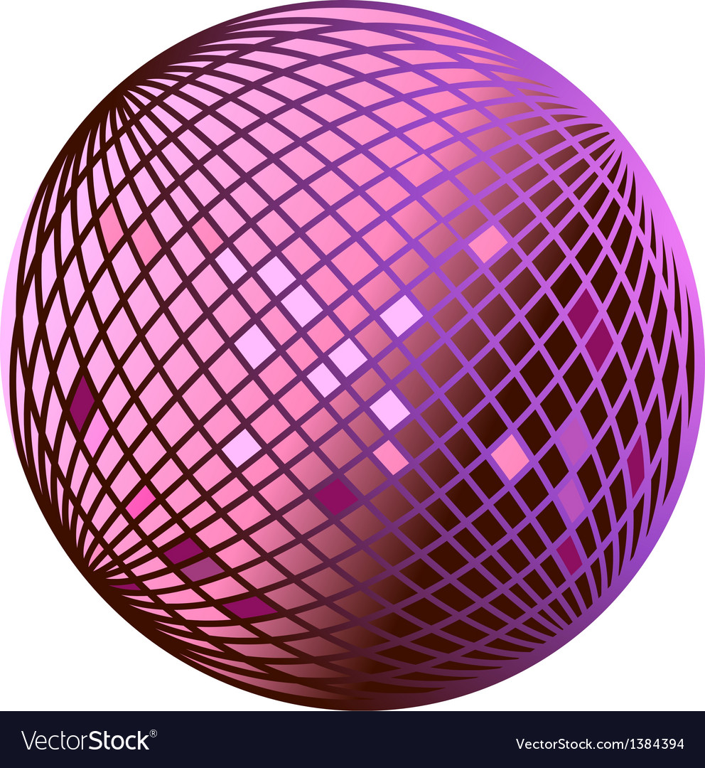 Icon disco ball vector | Price: 1 Credit (USD $1)