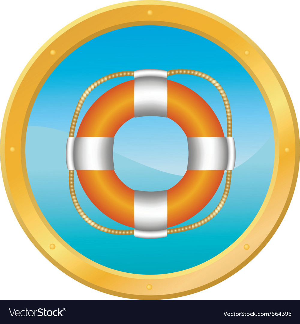 Lifebuoy vector | Price: 3 Credit (USD $3)
