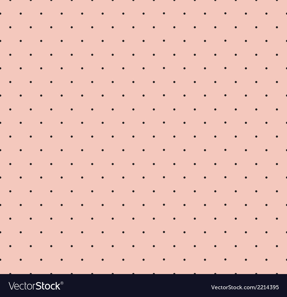 Retro polka dot seamless pattern vector | Price: 1 Credit (USD $1)