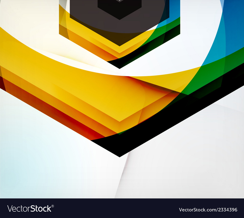 Arrow geometric shape abstract business background vector   Price: 1 Credit (USD $1)