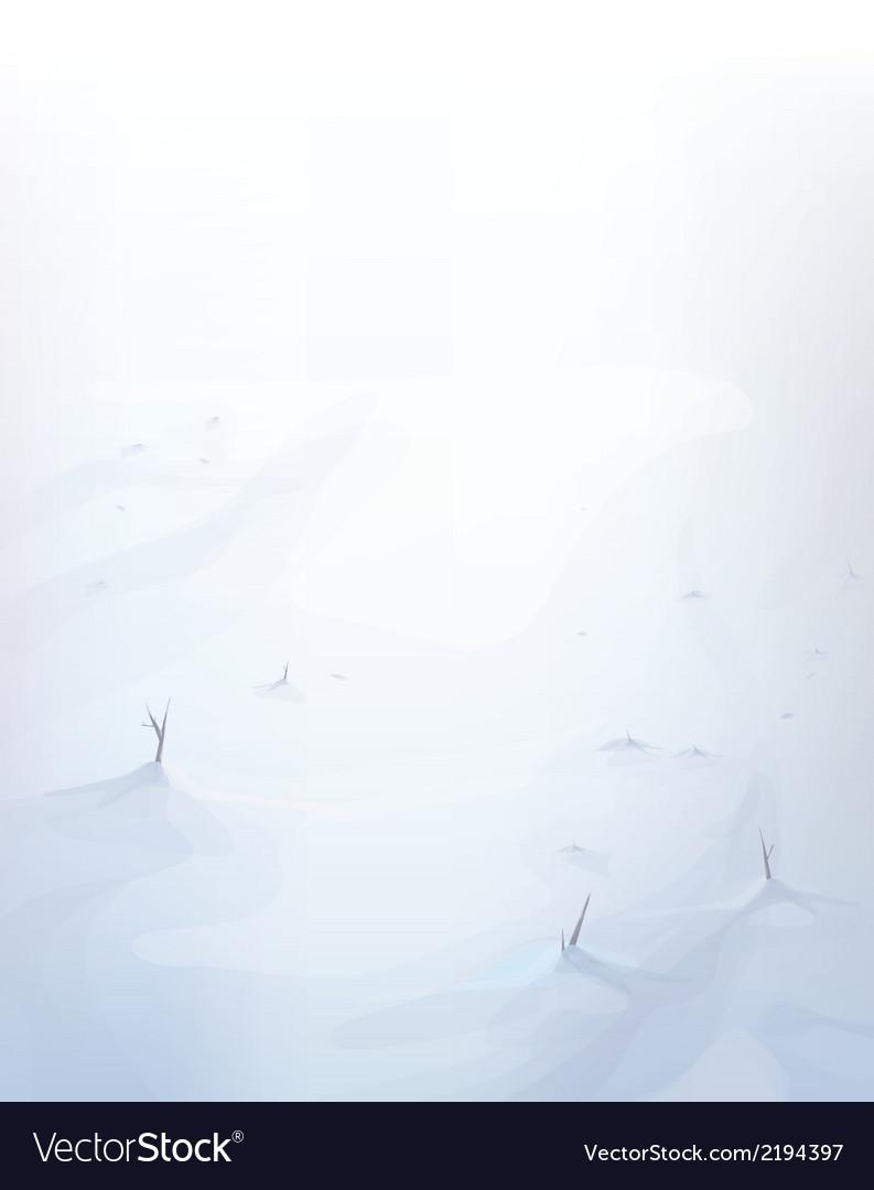 Snow background vector | Price: 1 Credit (USD $1)