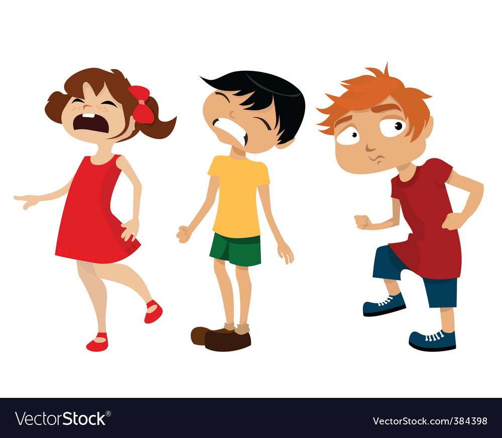 Cartoon kids vector | Price: 1 Credit (USD $1)