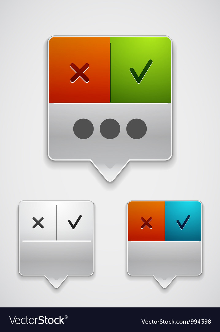 Modern dialog box icon vector | Price: 1 Credit (USD $1)