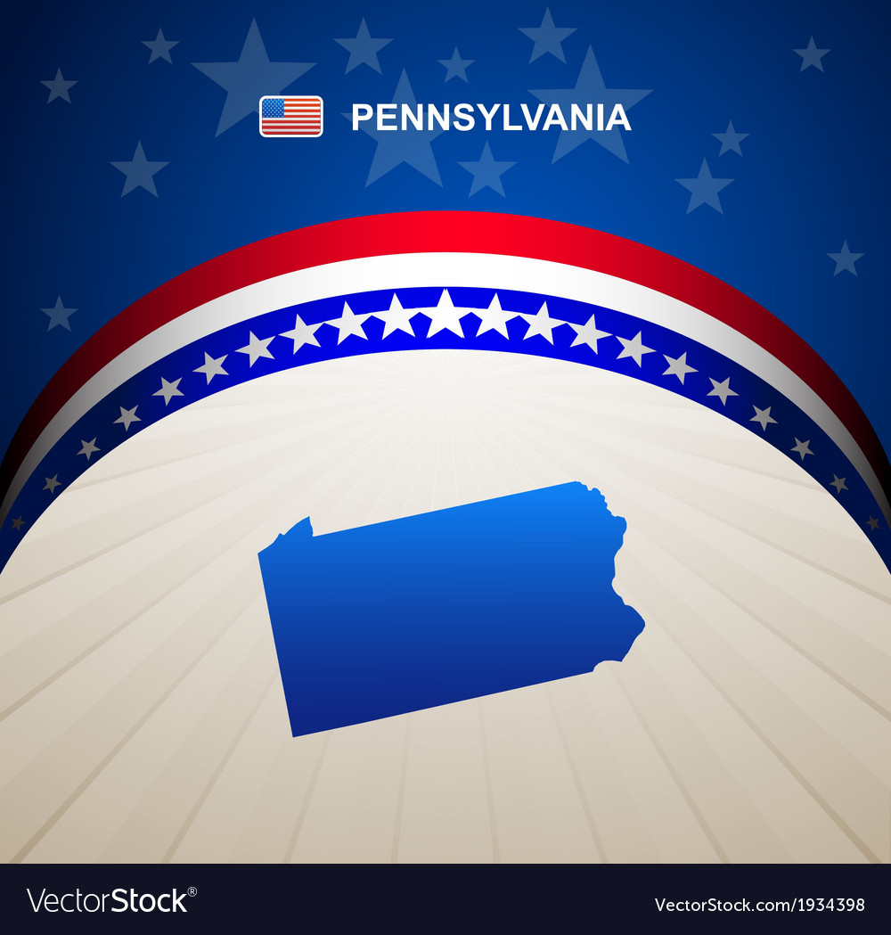 Pennsylvania vector | Price: 1 Credit (USD $1)