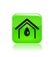 Water home icon vector