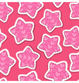 Stars pink 380 vector