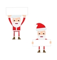Santa claus with sign vector