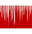 White stripes on red background vector