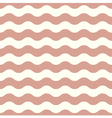 Seamless wave pattern for wedding in brown vector