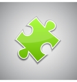 Green puzzle vector