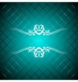 Turquoise luxury background vector