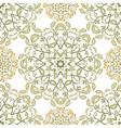 Tree seamless pattern vector