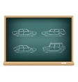 Board types of cars vector