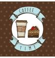 Delicious coffee vector
