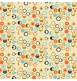 Circles background pattern and icon vector
