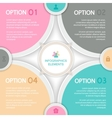 Abstract elements of infographics vector