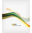 Abstract blurred waves in the air vector