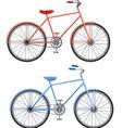 Two bikes vector