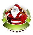 Santa claus cartoon for you design vector