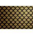 Black and gold glamour pattern vector