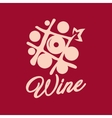 Wine shop sign vector