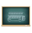 Board english bus vector