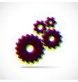 Cogwheels gears vector