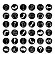 Doodle arrow buttons vector