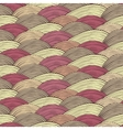 Seamless pattern with abstract decorative waves vector