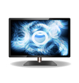 Abstract led television - design vector