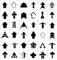 Design set of arrow vector