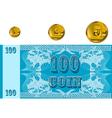 Abstract money vector