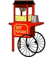 Popcorn machine vector