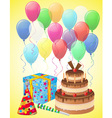 Set icons for birthday 02 vector