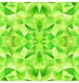 Green abstract crystal seamless pattern vector