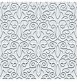 Grey seamless pattern vector