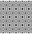 Monochromic islamic pattern vector