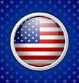 American circular badge vector