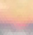 Retro mosaic pattern vector