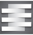 Infographics blank paper stripe banners with vector