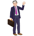 A businessman vector