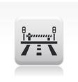 Road bar icon vector